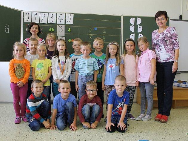 ZŠ Čechtice, 1.Astřídní učitelkou