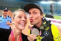 Libor Podmol s manželkou Lenkou.