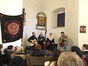 Advent na hradě v Týnci nad Sázavou v neděli 16. prosince 2018.