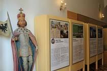 Vlašimský zámek a výstava Kněžna sv. Ludmila.