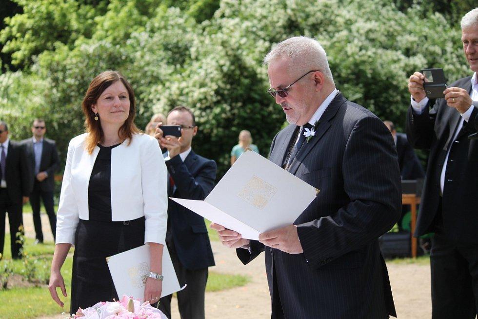 Svatba Jaroslavy Jermanové a Jakuba Pokorného.