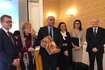Z vyhlašování výsledků soutěže Úřad na cestě k rovnosti v Lichtenštejnském paláci na pražské Kampě.