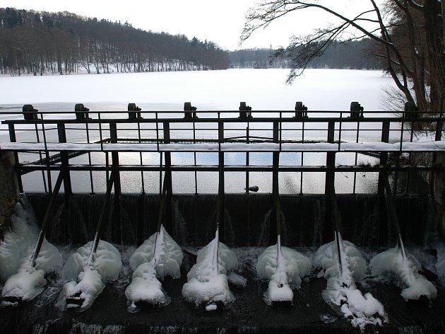 Kolik zim ještě zažije Konopišťský rybník, než se dočká odbahnění?