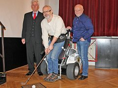 V divadle Na Poště se v úterý 14. března konal druhý benefiční koncert Jamka pro hendikep.