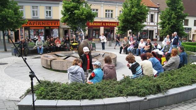 Den hudby na benešovském náměstí