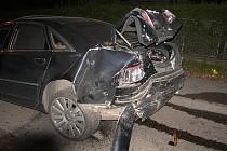 Podvečerní nehoda na okraji Benešova.