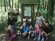 Naučnou stezkou na Konopišti se vydali žáci v rámci turistického dne.