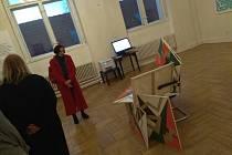 Hned tři výstavy čtyř umělců byly zahájeny ve středu 27.února ve třech prostorách MUD Benešov.