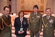 Podplukovník Vladimír Ditrich se 11. listopadu zúčastnil spolu s kapitánem  Alenou  Ditrichovou a podplukovníky Miroslavem Markem a Stanislavem Švídkem setkání válečných veteránů, které se konalo u příležitosti celosvětového dne válečných veteránů.