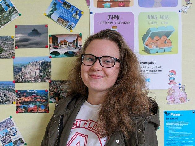 Gymnazistka Anna Horáková.
