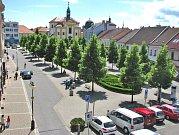 Masarykovo náměstí, červen 2009.
