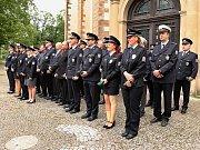 Středočeská policie přivítala 110 nováčků
