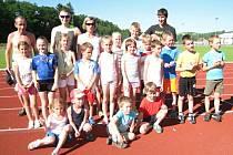 Benešovský běžecký klub na závodech ve Vlašimi