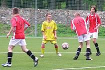 V okresním derby starších žáků vyhrál Týnec nad Sázavou nad domácími Voticemi 4:1.