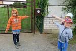 Děti z mračské mateřinky MiniSvět zažily týden s dinosaury.