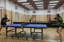 Odstartovaly okresní soutěže stolního tenisu