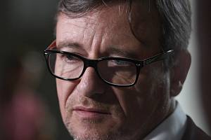 Bývalý středočeský hejtman David Rath u Vrchního soudu v Praze.