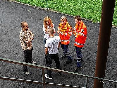 Nové výjezdové stanoviště záchranné služby ve Vranově.
