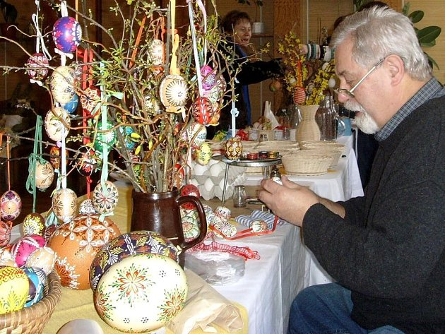 Předvelikonoční výstavy mají na Podblanicku dlouhou tradici
