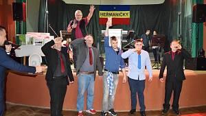 Reprezentační sportovní ples uspořádaný TJ Sokol Heřmaničky.
