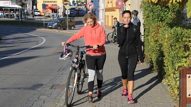 Votická Táborská ulice bude bezpečnější pro chodce.