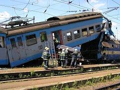 Ilustrační foto: Srážka vlaků v Čerčanech