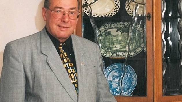 Mojmír Chromý, starosta Benešova v letech 1990 až 2004.