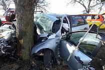 Nehoda zablokovala silnici ze Světic do Říčan.