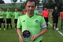 Rostislav Hašek s cenou pro fotbalistu roku