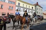 Z Memoriálu generála G. A. Custera v centru Benešova.