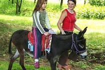 Ilustrační foto: Nejmenší návštěvníci farmy se hravou a nenásilnou formou seznámí s domácími zvířaty i tradičními řemesly