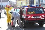 Z činnosti dobrovolných hasičů ve Vlašimi v době koronavirové.