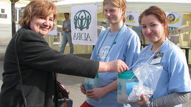 Humanitární organizace ADRA na Masarykově náměstí