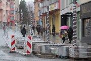 Tyršova ulice v Benešově v pátek 21. prosince 2018.