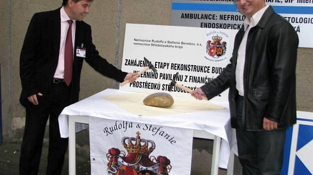 Nemocnice zahájila rozsáhlou rekonstrukci pavilonu interny