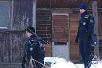 V zimě je vloupání do chat méně časté. Na vniknutí do objektu případně upozorní stopy ve sněhu.