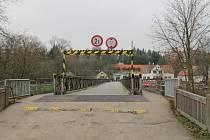 Most mezi Čtyřkoly a Lštěním.