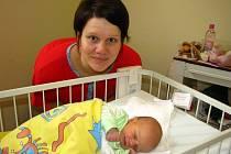 Vítězkou červencového kola ankety Nejsympatičtější miminko měsíce se stala Kristýnka Škvajnová z Čerčan.