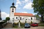 Kostel v Olbramovicích.