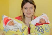 Sofie a Laura Bachovy jsou vítězkami hlasování o Nejsympatičtější miminko měsíce března.