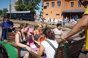 Oslava 120 let trvání regionální trati Vlašimky.