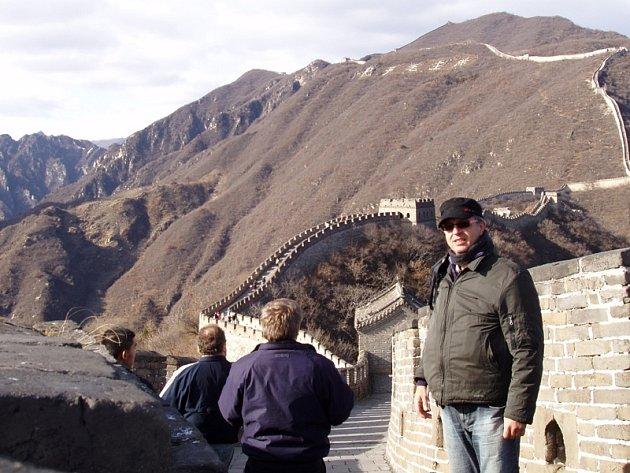 Svatopluk Česák připravuje zážitky nejen z Číny pro knižní vydání.