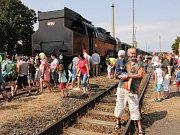 Nostalgická vlaková souprava dorazila do Vlašimi toto léto naposledy.