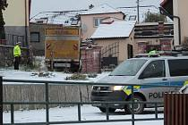 Dopravní nehoda v Peceradech ve čtvrtek 3. prosince 2020.