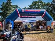 Prezentace Středočeského kraje v rámci oslav 115. výročí značky Harley-Davidson.