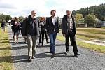 Akce se zúčastnil ministr zemědělství Miroslav Toman, generální ředitel s. p. Povodí Vltavy Petr Kubala a starosta města Sázavy Ivan Koldcsiter.