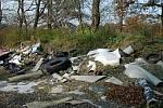 Než by někteří lidé dali nemalé peníze za likvidaci ve sběrném dvoře, odvezou staré pneumatiky do lesa.