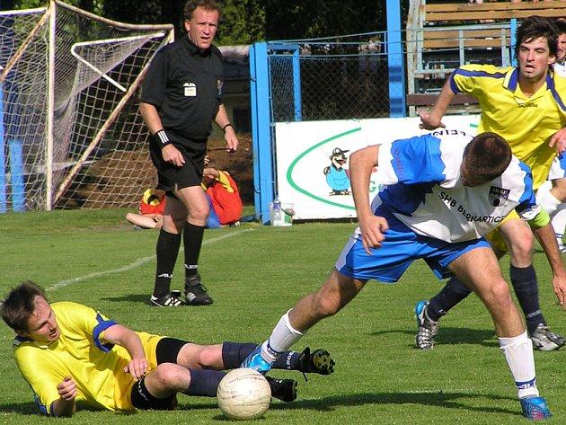 Divizní derby Benešov - Vlašim se příští rok hrát nebude.