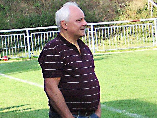 Miroslav Bubeník, trenér Týnce nad Sázavou.