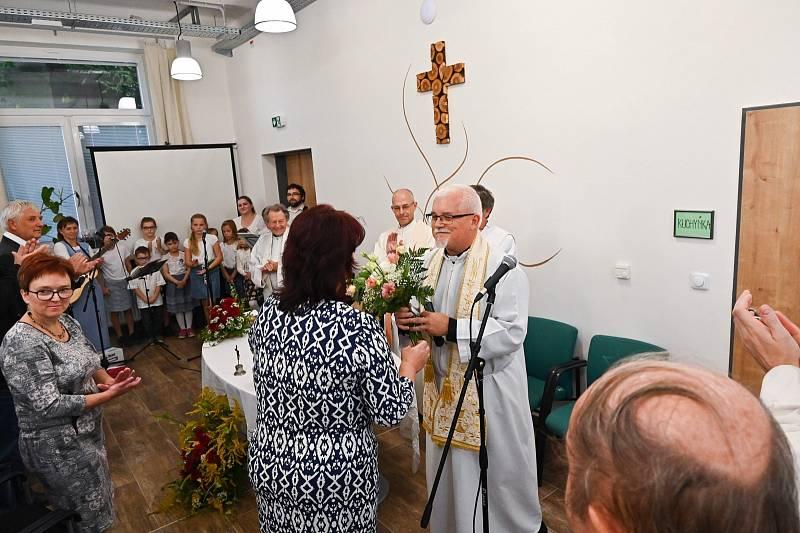 Ze slavnostního požehnání Komunitního centra Zahrada ve Vlašimi.